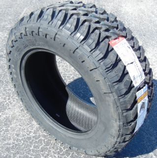 "35"" Fuel MT Mud Gripper Terrain Tires 35x1250x20 Toyota Ford Dodge Chevy GMC 4x4"