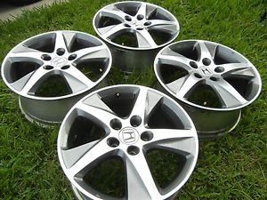 "17"" Acura TSX Wheels 2013 08 13 17x7 5 55mm Offset OE Accord"