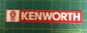 2 Kenworth Truck Semi Car Window Decals Stickers