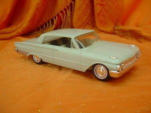 1961 Ford Galaxie 500 Dealer Promotional Model Car Promo 2 Door 1 25th Scale