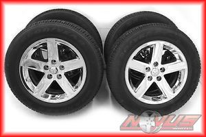 "New 20"" Dodge RAM 1500 Bighorn Durango Factory Chrome Wheels Tires 22 18"
