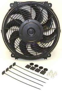 "Ford Mercury Car Trucks Dual 12 inch Fans 12"" Electric Fans Champion Cooling"