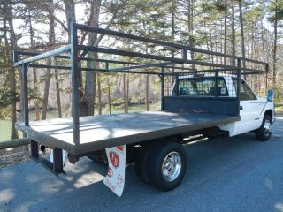Chevrolet C K Pickup 3500 Flat Bed Utility Truck