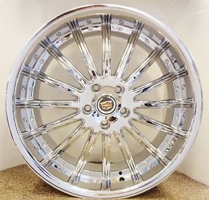 Cadillac Chrome 20 inch Wheels Set of 4