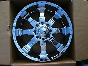 "22"" Chrome Wheels Tires 8x180 Chevy GMC Nitto Terra Grappler 305 45 22"