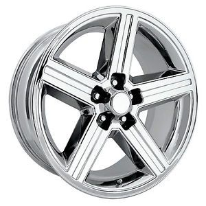 "22"" Chrome IROC Wheels 5x5 Chevy Silverado Sierra Blazer Jimmy C1500 Rims"