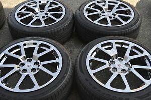 "Cadillac cts CTSV 19"" Chrome Wheels Rims Tires PVD Chrome Wheels 4647"