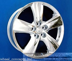 Lexus LS460 19 inch Chrome Wheel Exchange LS 460 L 460L LS460L 19""