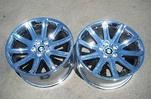 "Exchange 4 19"" Factory BMW 745i 745LI 750i 750LI 760i Chrome Wheels Rims"