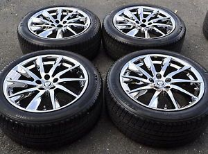 "18"" Jaguar XF Chrome Wheels Rims Tires Factory Wheels 2013 2014 59885"