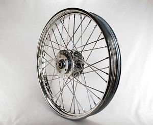 Ultima Chrome 21 x 2 15 40 Spoke Front Wheel Harley Sportster XL Dyna FXR Custom