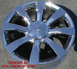 "New 20"" Factory Infiniti FX35 FX45 Chrome Rim Wheel 1 Single Rim"
