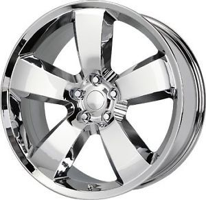22 inch 22x9 Replica Wheels Rims Dodge Challenger SRT Chrome 5x115 18 Offset