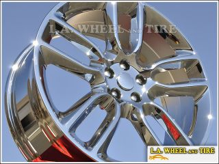 "Set of 4 New Chrome 22"" Ford Edge Lincoln MKX Wheels Rims 3783 Exchange"
