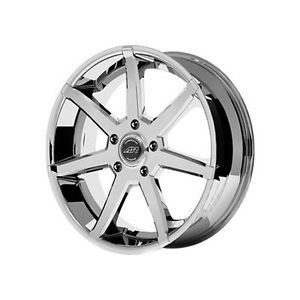 American Racing AR840 Rims Wheels Chrome 18x8 6x139 7 38