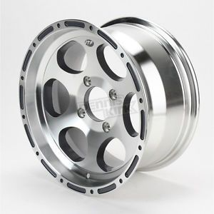ITP 14 in Machined Cast C Series Type 7 Aluminum Wheel 1428144404B