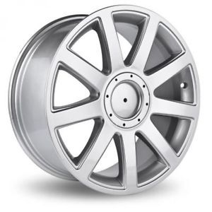 "RS4 9 Spoke TT VW Alloy Wheel Chrome Centre Cap 17"" 18"""