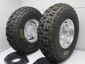 ITP Holeshot XCT High Perf ATV Tire Wheel Combo Set 23x7 10 Yamaha