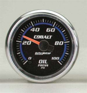 Auto Meter 6153 Cobalt Electric Oil Pressure Gauge