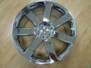 "22"" 2012 Chrysler 300 Chrome SRT8 Challenger Charger Magnum Wheels Rims Set"