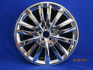 "Lincoln MKX 2011 2013 Used Chrome Clad Wheel Rim 20"" 3853"