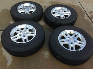 Four 4 Firestone Winterforce UV Winter Snow Tires P225 75R16