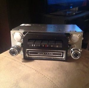 1969 1970 Ford Mustang Factory Am 8 Track Stereo Radio Reconditioned