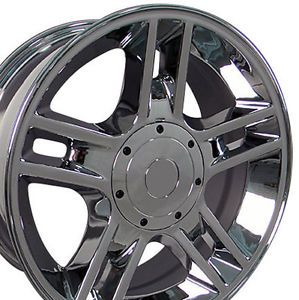 "1 20"" Chrome Ford F150 Harley Edition Replica Wheels Rims 20x9 1997 2003"