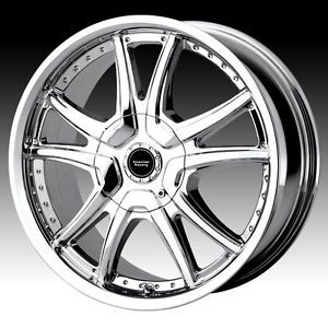 "16"" American Racing AR607 Alert Wheels Chrome 16x7 5x100 114 3 40 Offset"
