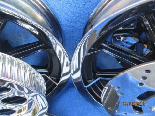 Harley Davidson Chrome Dyna FXR FLH Ultra XL Chrome Wheels O E M Best Buy