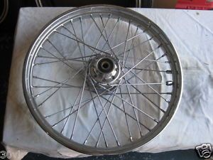 Harley Softail Dyna Chrome 40 Spoke 21 x 2 15 3 4 Axle Front Wheel