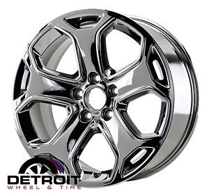 "Ford Edge 18"" Chrome Wheels Rims Factory Wheels PVD Chrome Set 4"