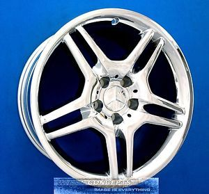 "Mercedes AMG CL500 CL55 18 inch Chrome Wheel Exchange 18"" Rims CL 500 55"
