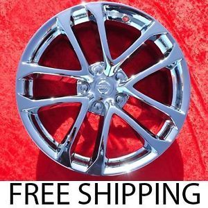 "Set of 4 New Chrome 18"" Nissan Altima Factory Wheels Rims 62521"