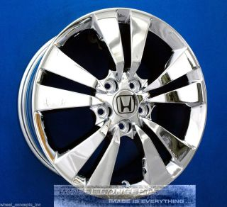 "Honda Accord Coupe 17 inch Chrome Wheel Exchange 17"" Rims"