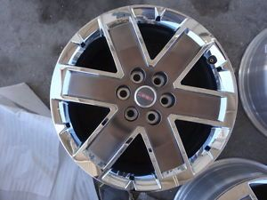 2010 2011 2012 2013 GMC Acadia 20 inch Chrome Clad Factory Wheel Rims