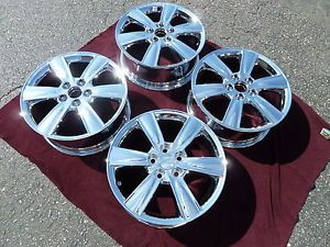 "4 17"" Lexus Chrome Wheels ES330 ES300 ES350 GS300 IS300 LS400 LS430 Rims Set"