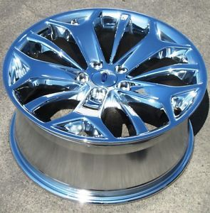 "Exchange Stock 4 19"" Factory Ford Taurus Chrome Wheels Rims 2013 3925"