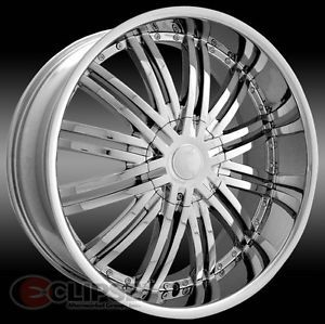 22 inch ELR19 Chrome Wheels Rim Ford Taurus Thunderbird