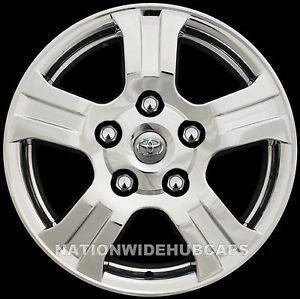 "4 Toyota 18"" Chrome Wheel Skins Rim Hub Cap Covers Fit 5 Spoke Aluminum Wheels"