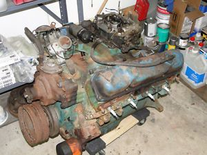 1965 Dodge Plymouth 383 Engine Big Block Mopar B Motor