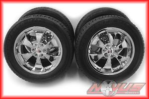 "20"" RST Chevy Tahoe Silverado GMC Yukon Sierra Chrome Cooper Wheels Tires 22 18"