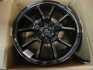 "2005 2008 Ford Mustang Black Chrome FR500 Style 18 x 9"" Wheel LRS 1007FBCA"