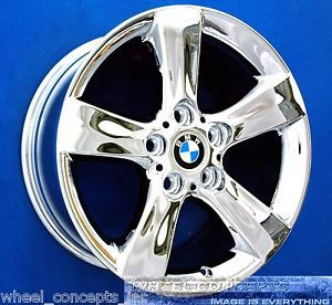 BMW 325i 328i 330i 17 inch Sport Chrome Wheel Exchange