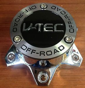 V Tec Chrome Aftermarket Wheel Center Cap 6 Lug C394 6 396 399 394 397 Old Logo