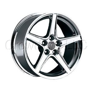 "Ford Mustang Saleen Wheel Rim 300 Chrome 17"" 4 Lug"