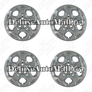 Ford Fusion 2010 2013 Chrome Factory Replica Wheel Covers Hubcaps 17""