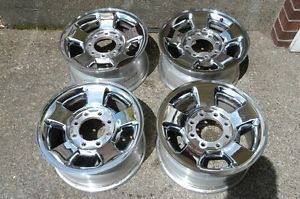 "Dodge RAM Factory 17"" Wheels Hemi 2500 Chrome Clad"