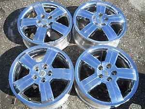 "Chevrolet HHR 17"" Chrome Alloy Wheel Rim Set LKQ"