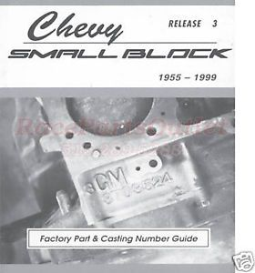 Small Block Chevy Parts Casting 's Guide Book SBC